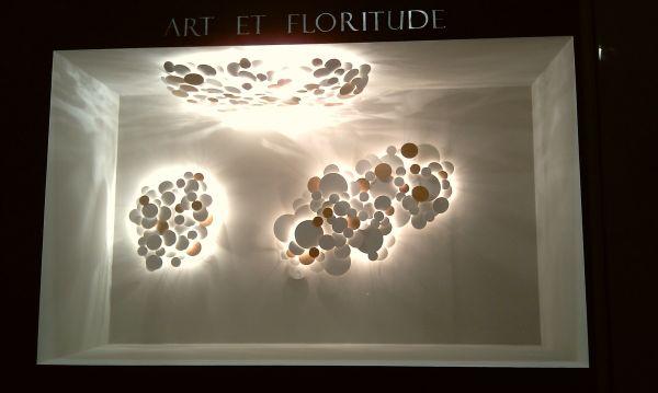 Art et Floritude Wandobjekt Lichtobjekt