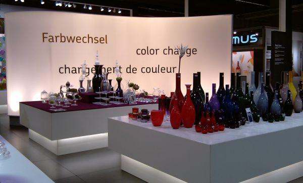 Farbwechsel Vasen