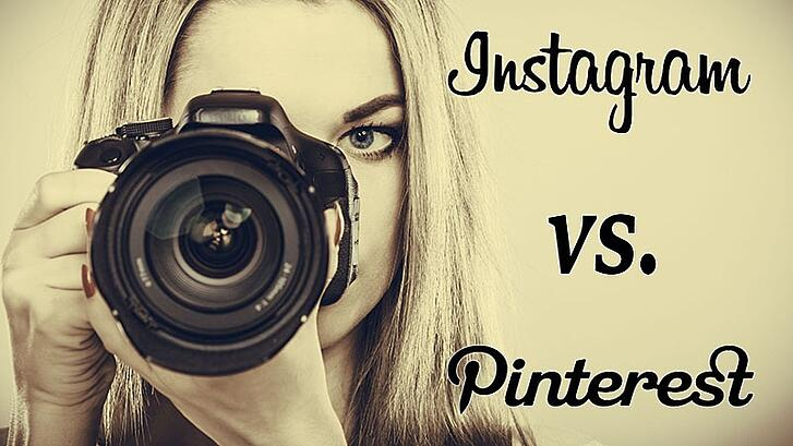 Instagram vs. Pinterest