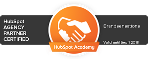 Brandsensations is a HubSpot Partner Certified Agency