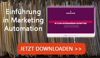 Einführung in Marketing Automation