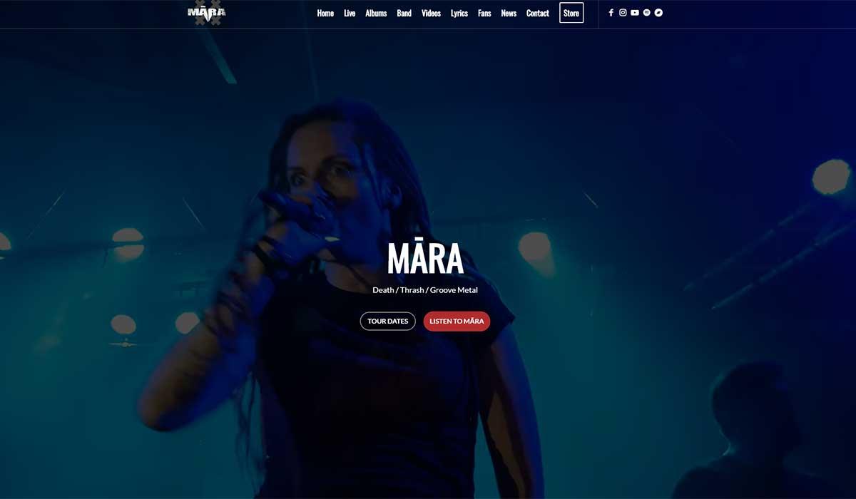 MĀRA, Death, Thrash, Groove Metal